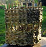 D Creel log basket