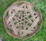 Celtic knot basket